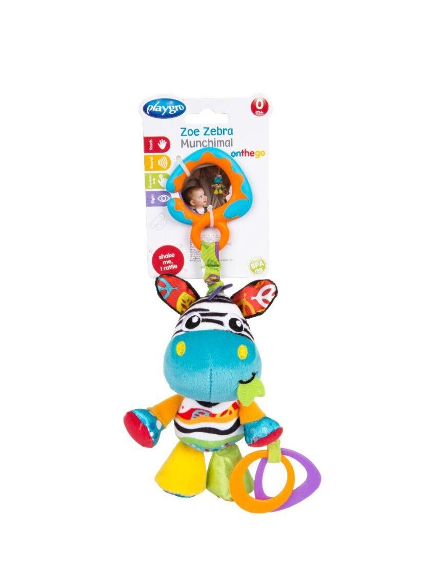 Playgro - zoe zebra munchimal - Playgro