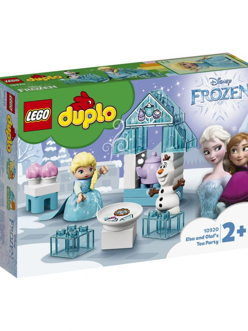 Duplo - festa do chá de elsa e olaf - 10920 - LEGO Duplo