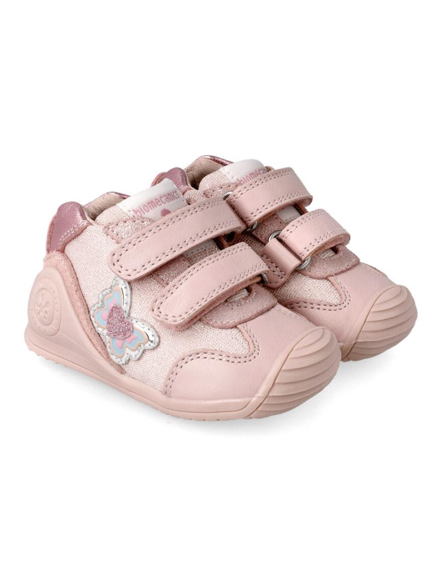 Sapato borboleta brilhante - Biomecanics