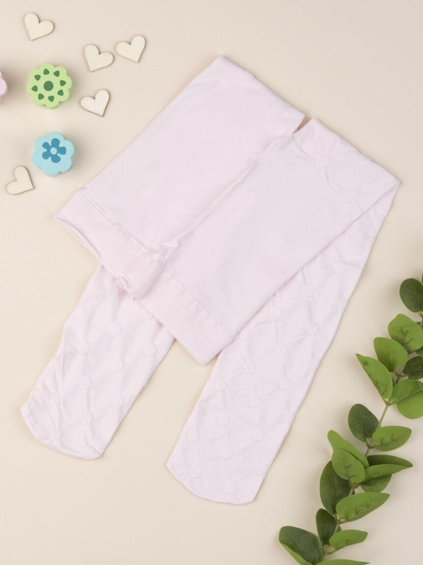 Meia-calça feminina de bolinhas - Prénatal
