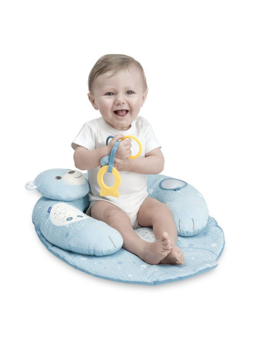 Chicco - ninho de carinho azul - Chicco