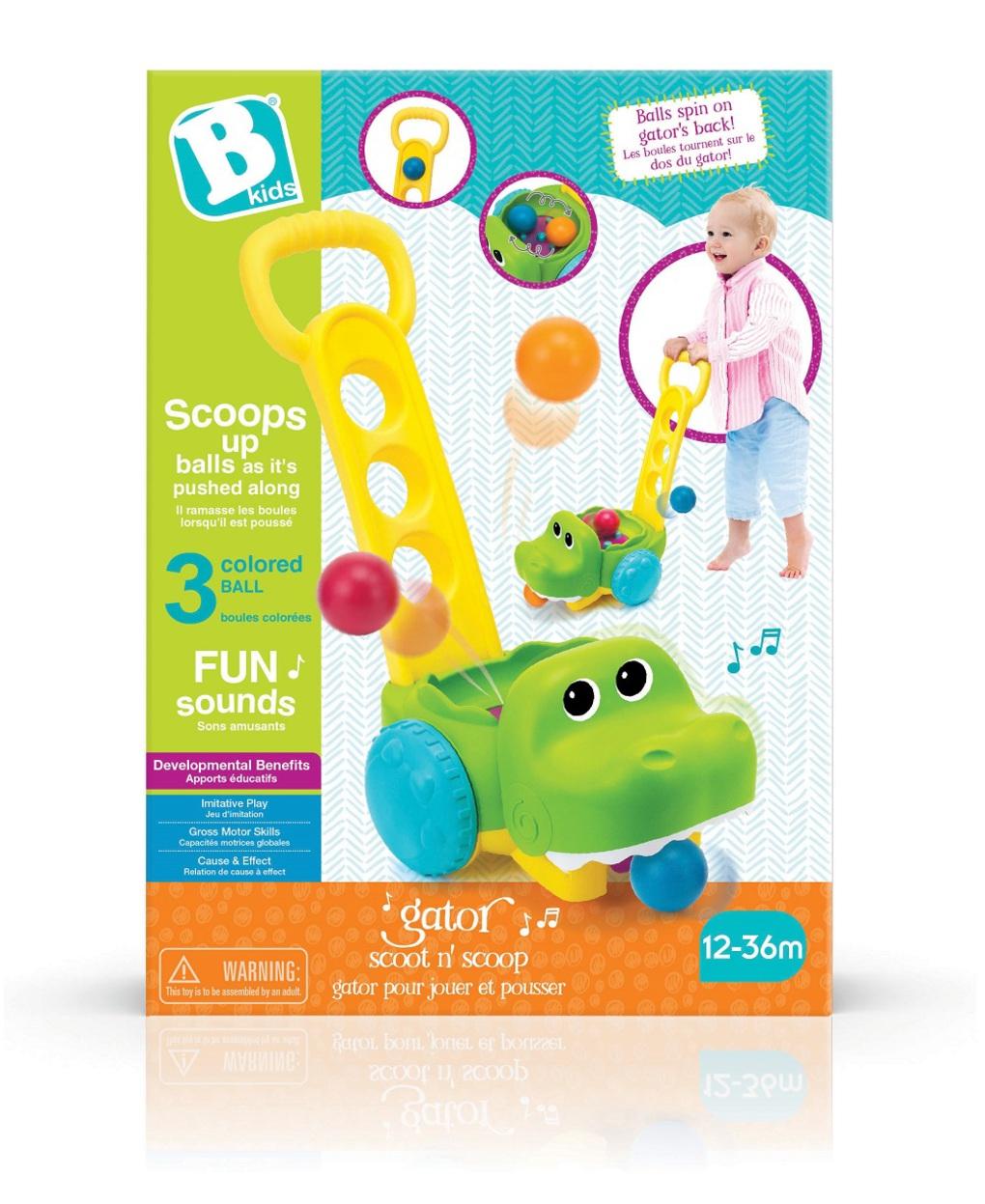 Bkids - crocodilo atirador de bola - B-kids
