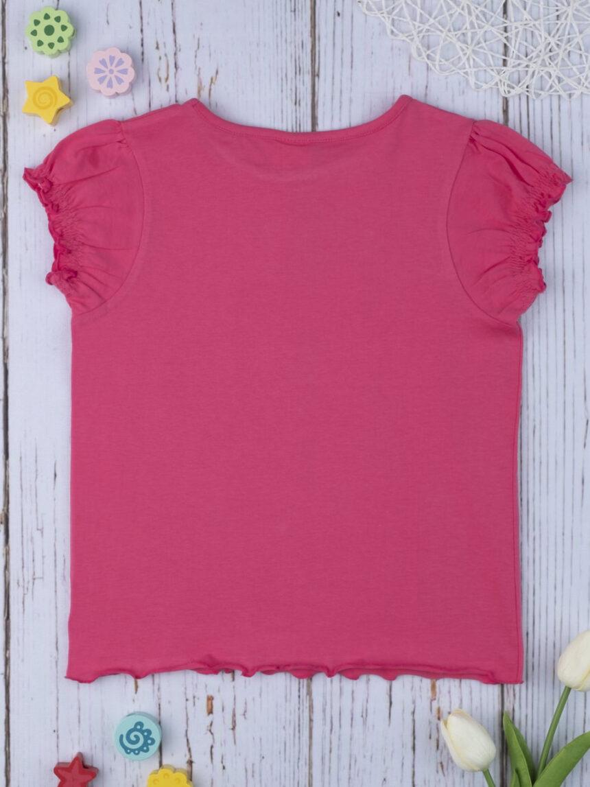 Camiseta feminina rosa total - Prénatal