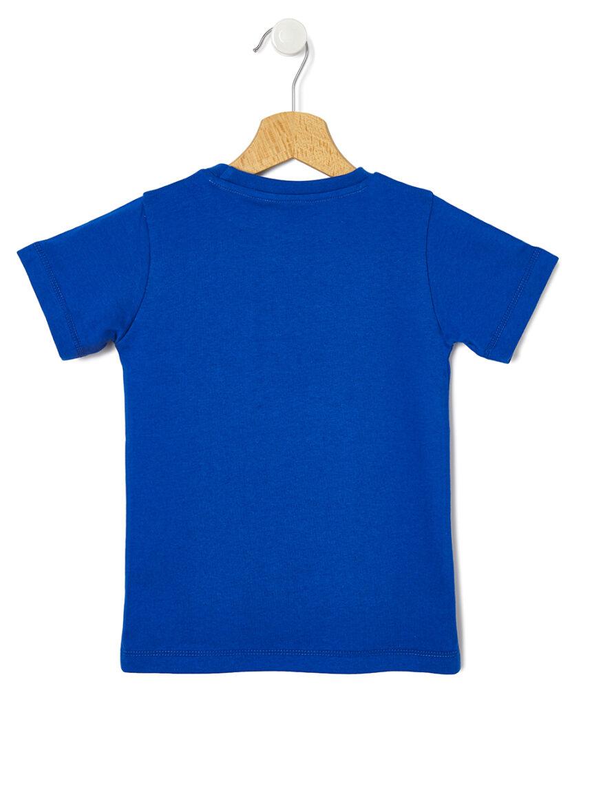 T-shirt com estampa de tubarão - Prénatal