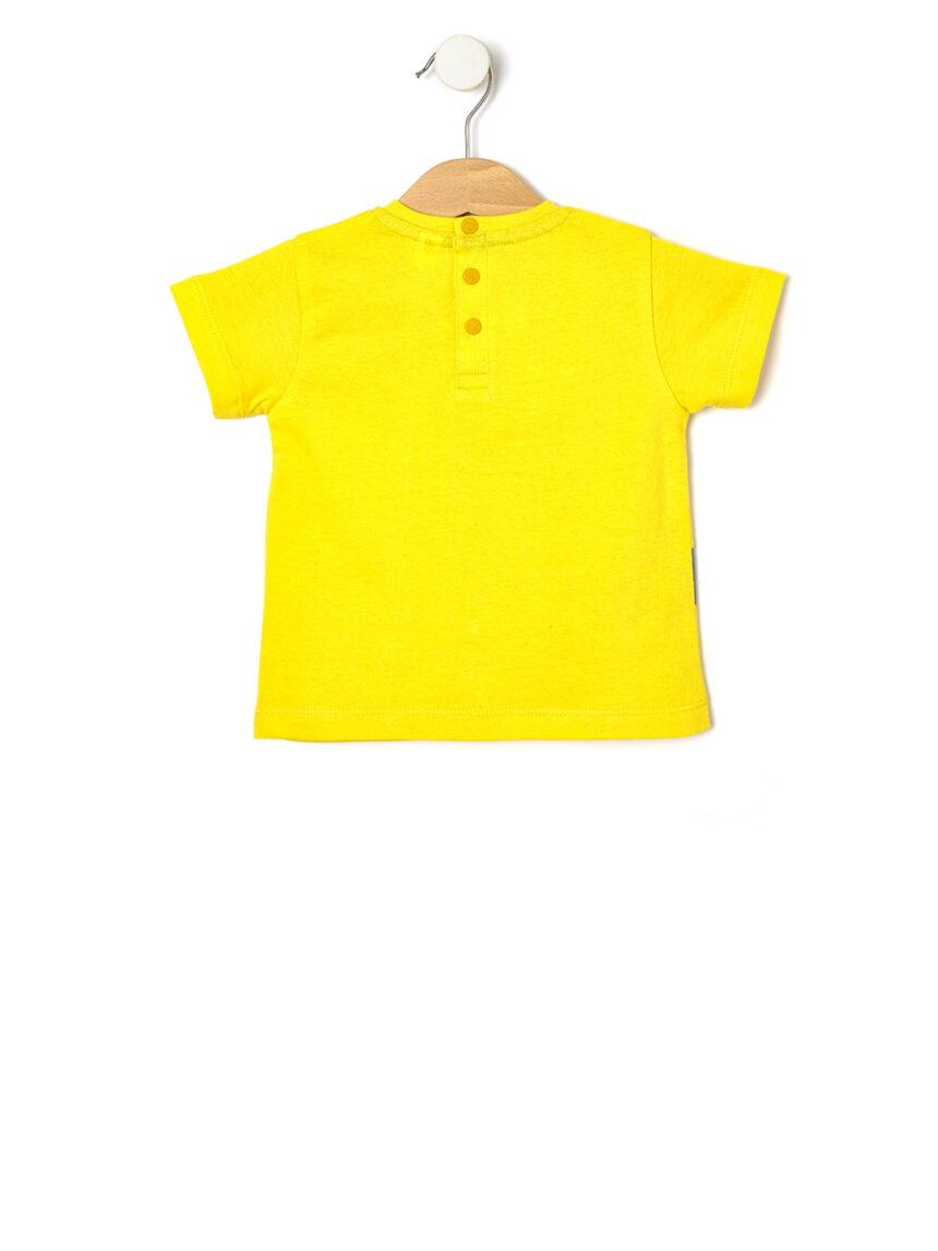 Camiseta com estampa de dinossauro - Prénatal