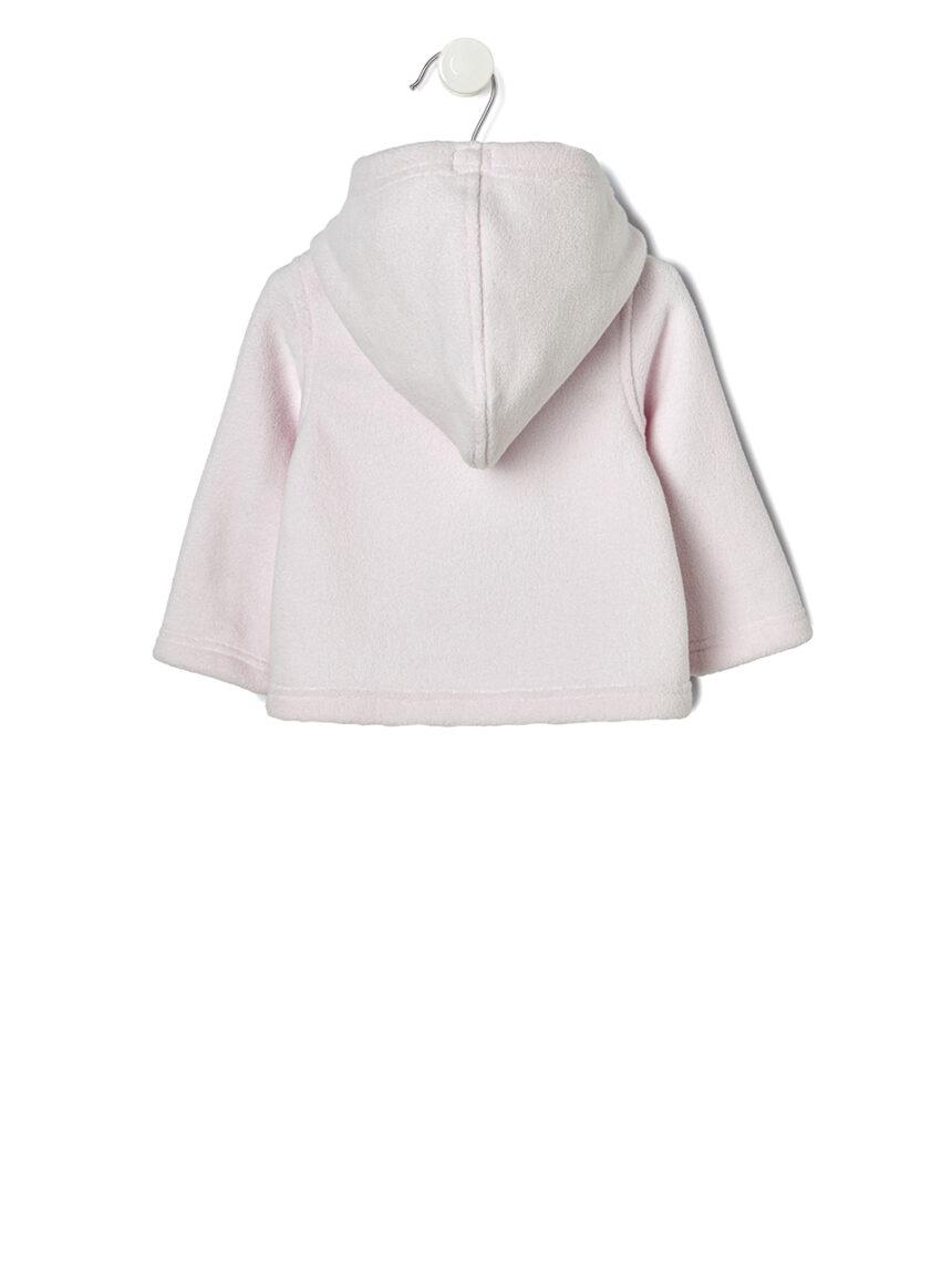 Jaqueta rosa com lã interna destacável - Prénatal