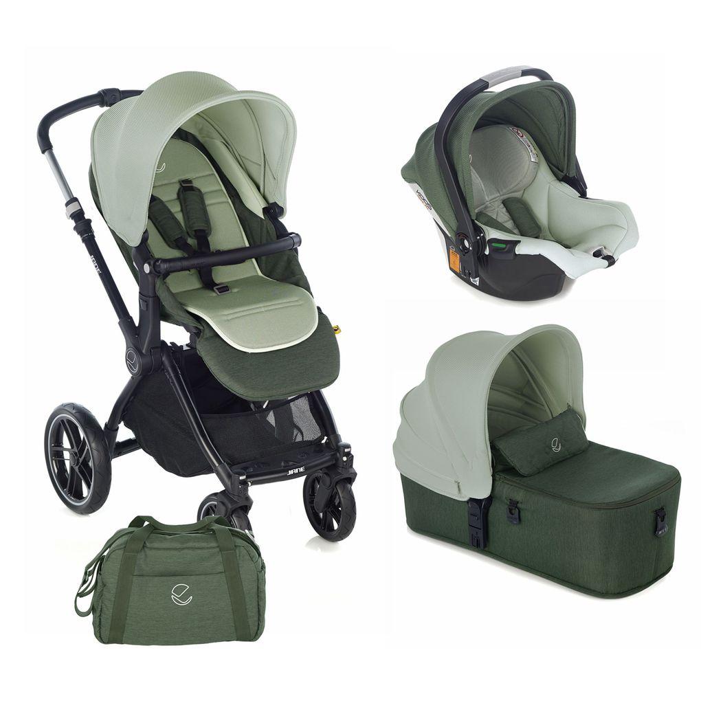Jané - kawai micro koos isize r1 forest green stroller - Jané