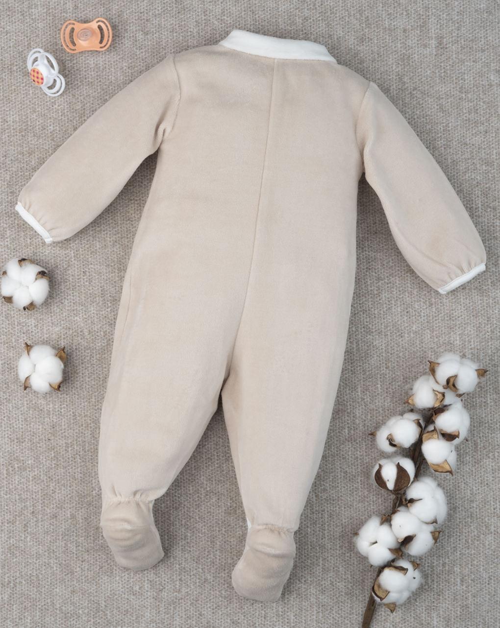 "Menina chenille macacão ""teddy bear"" - Prénatal"