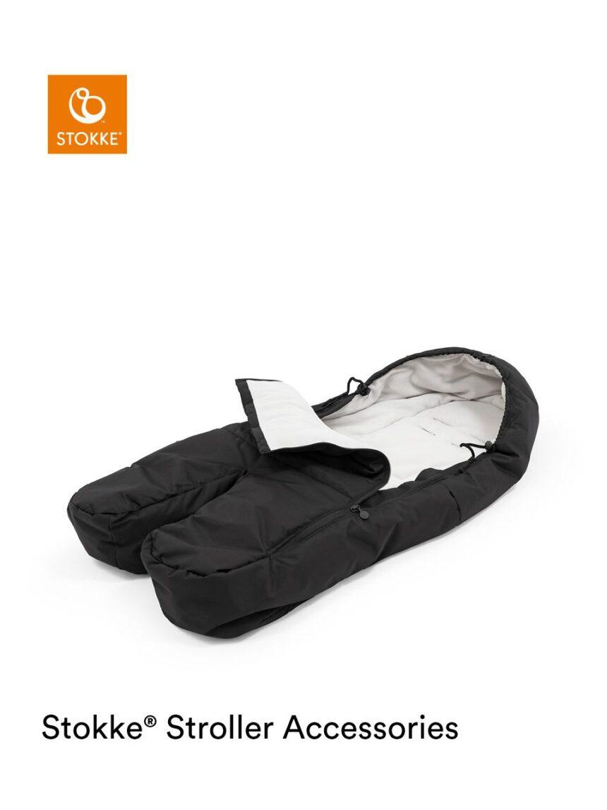 Abafador para pés stokke® xplory® x quente, confortável e com espaço para se mover - Stokke
