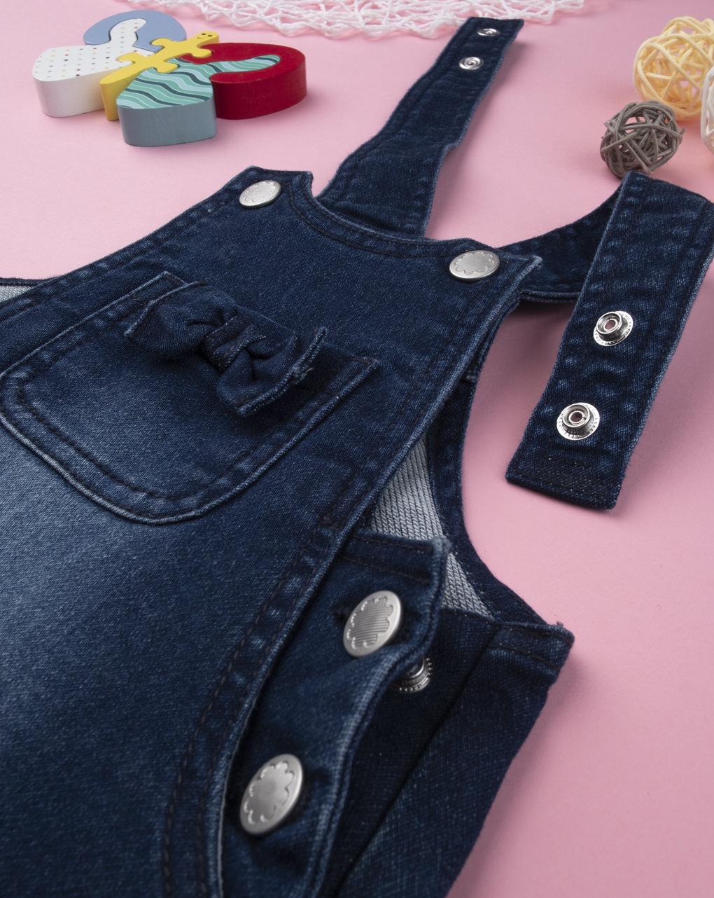 """Garota jeans scamiciato """"teddy love"""" - Prénatal"""