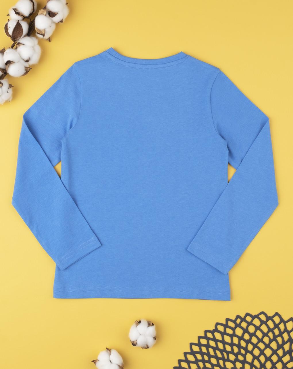 Camiseta azul claro lisa - Prénatal