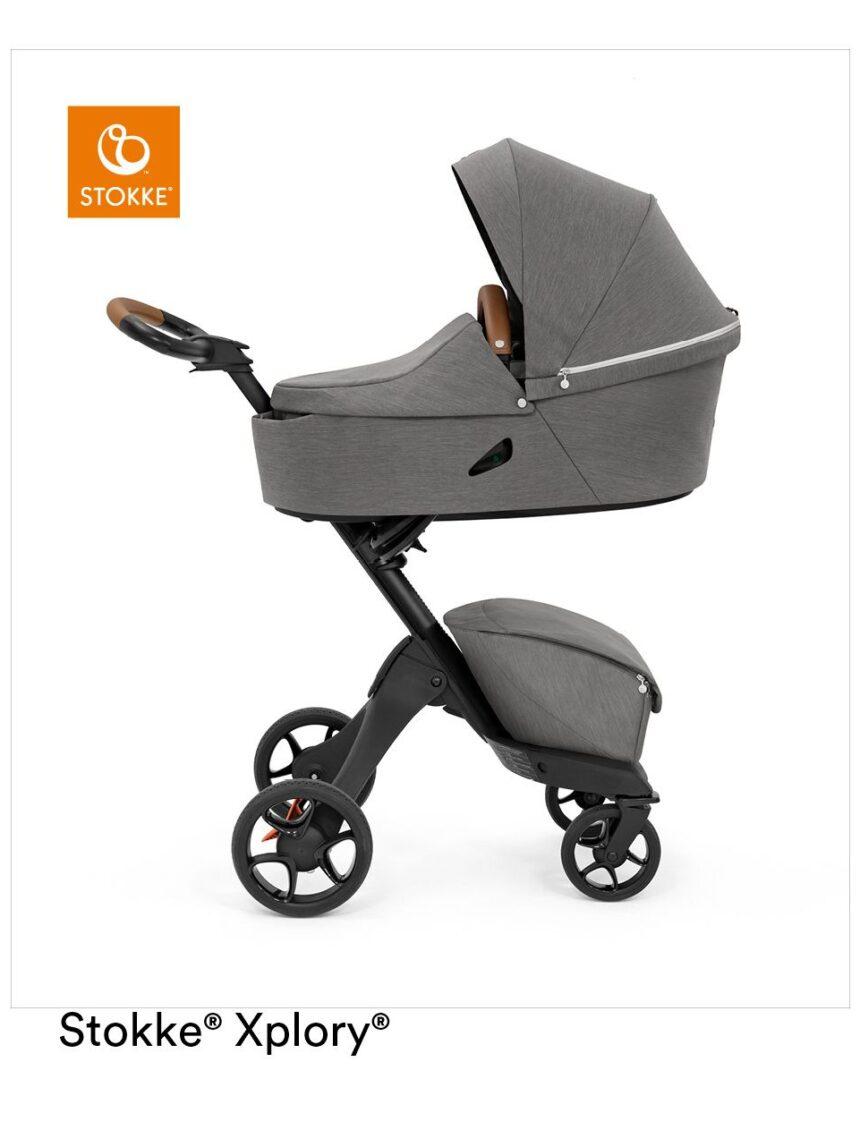 Stokke® xplory® x shuttle para o conforto do bebê mesmo fora de casa - Stokke