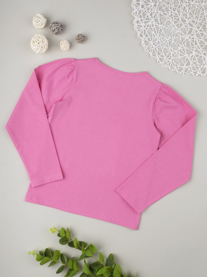 "T-shirt menina ""rosa"" - Prénatal"