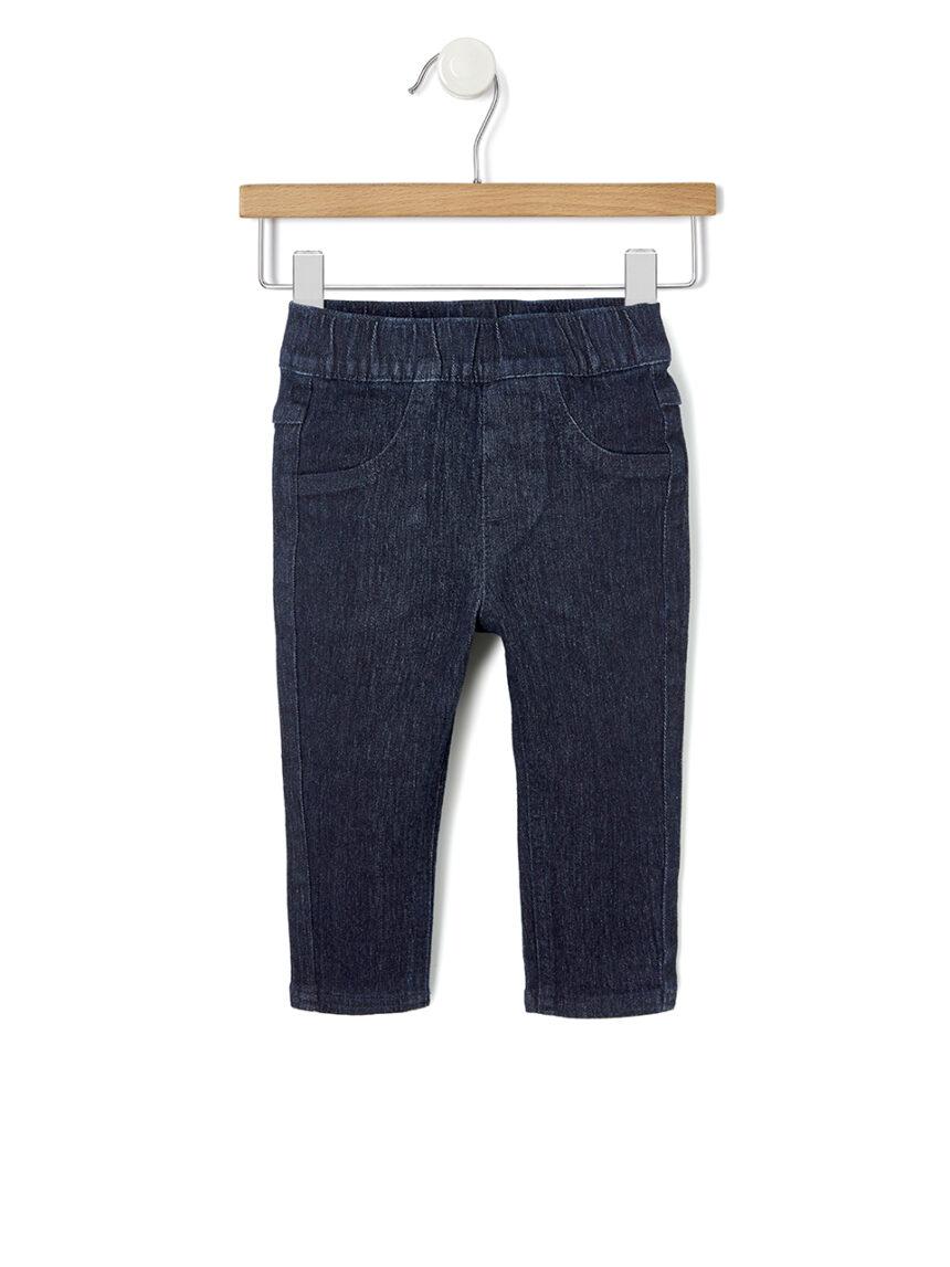 Calças jeans azul escuro - Prénatal