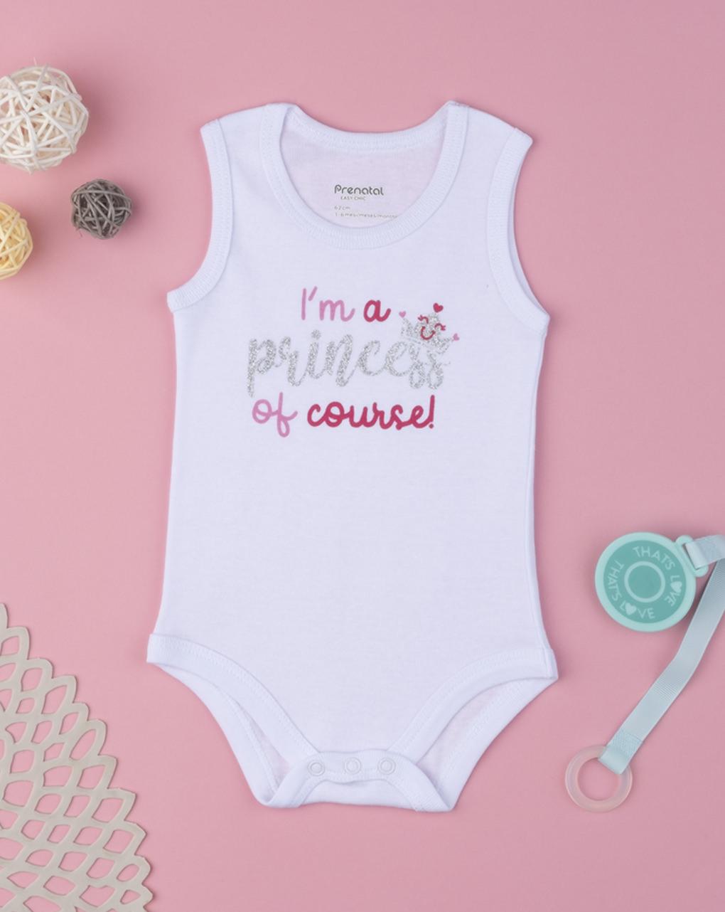 """Body girl """"sou uma princesa, é claro"""" - Prénatal"""