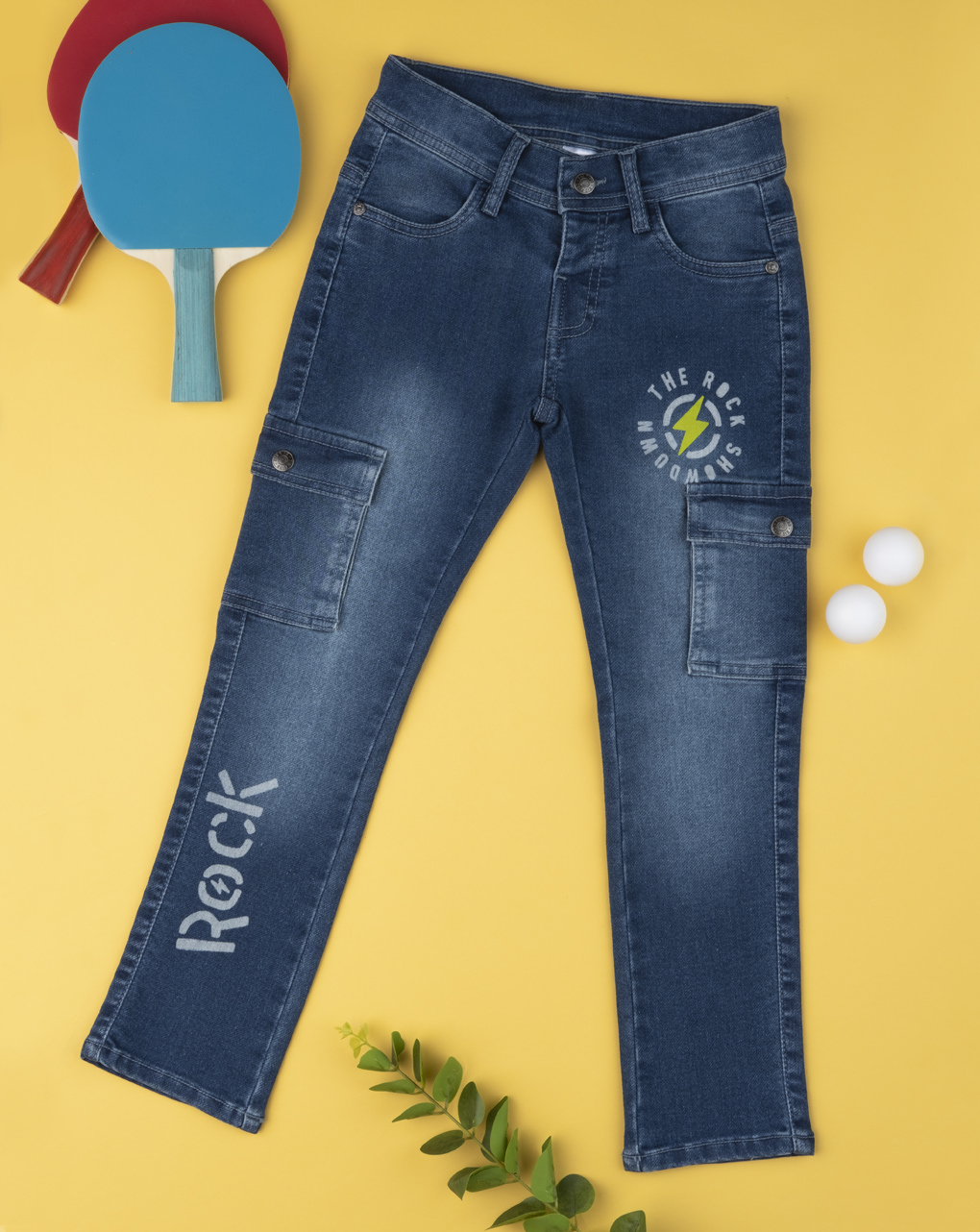"""Calça jeans pantalone """"rock"""" - Prénatal"""