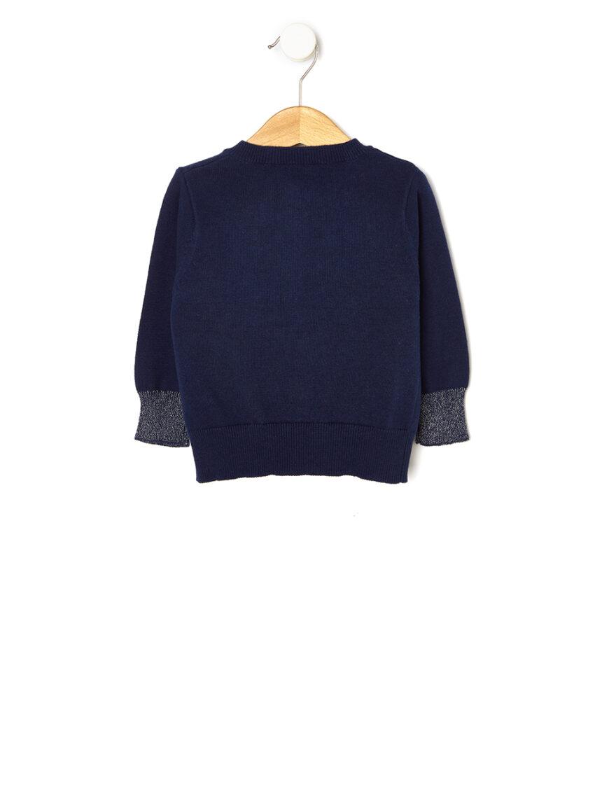 Cardigã tricot com detalhes de lurex - Prénatal