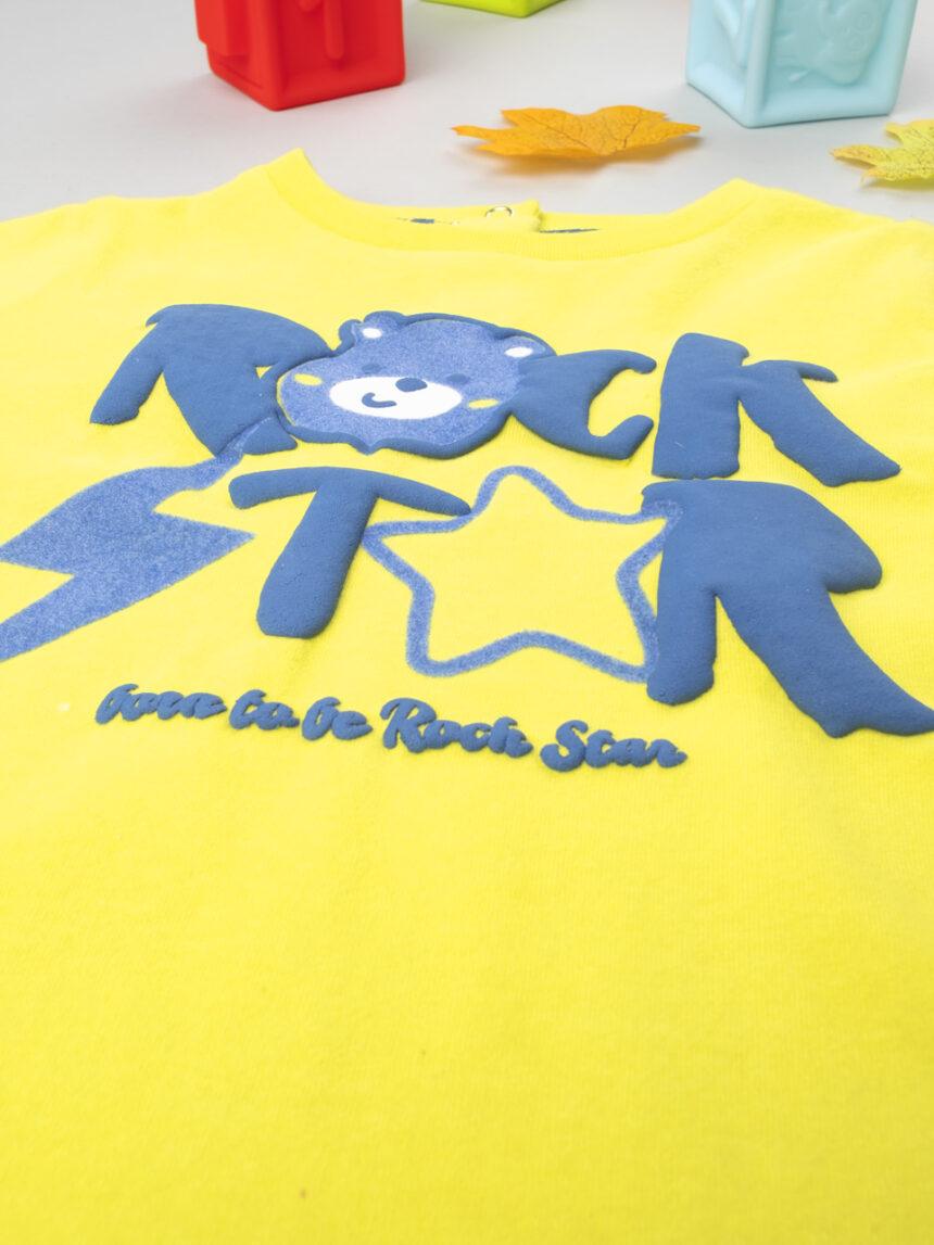 """T-shirt menino """"rock star"""" - Prénatal"""