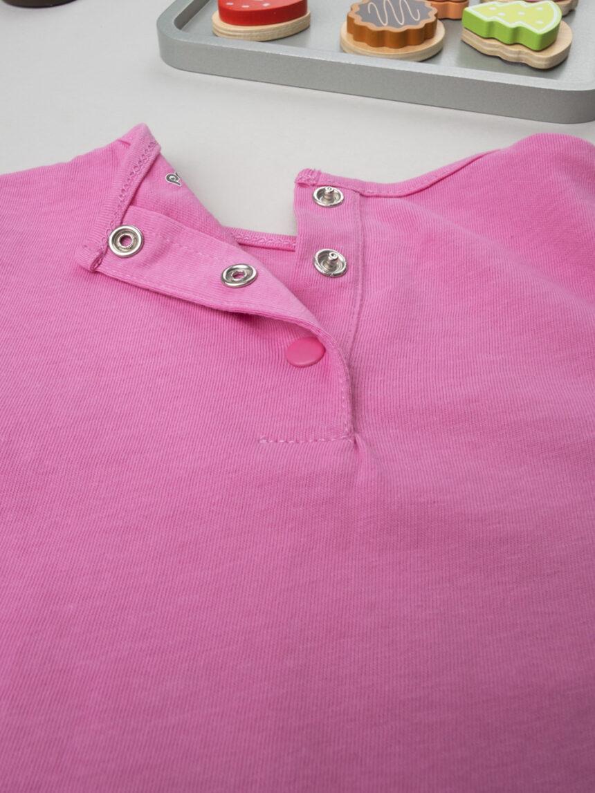 """Garota maglia """"rosa"""" - Prénatal"""