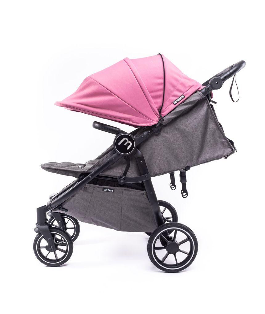 Silla gemelar easy twin 4 chasis black con milkshake color pack - Baby Monsters