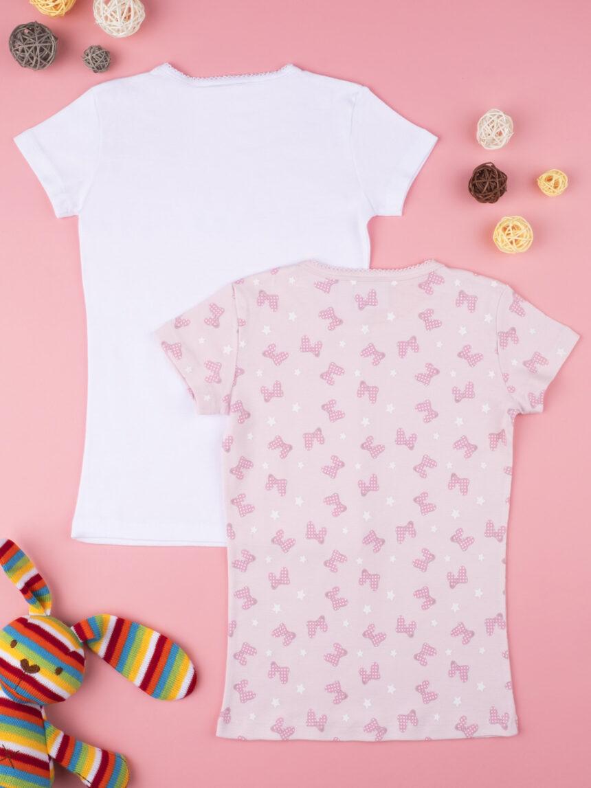 "Pack 2 t-shirt intime ""minnie"" - Prénatal"