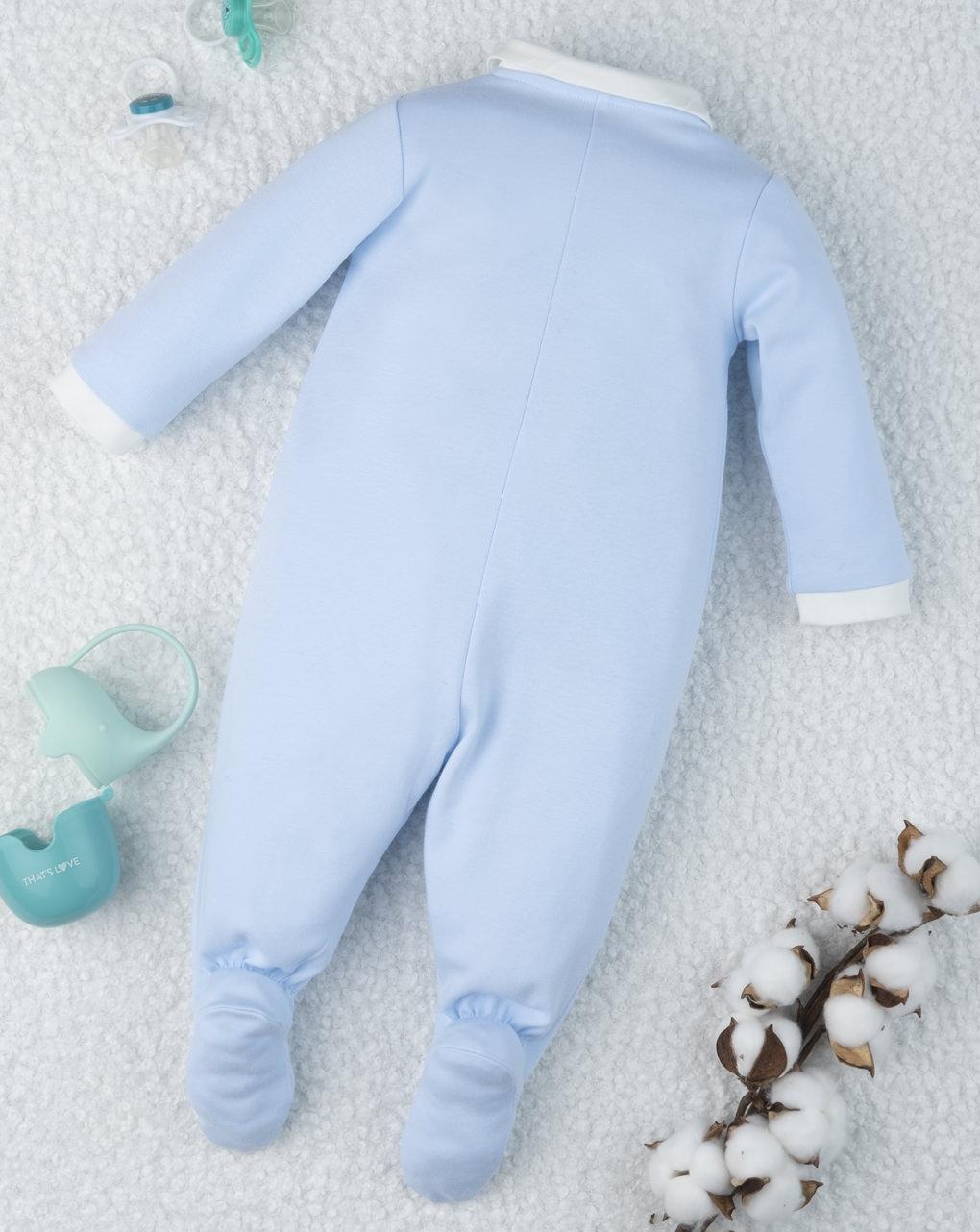 """Macacão bebê em formato de """"ursinho de pelúcia"""" - Prénatal"""