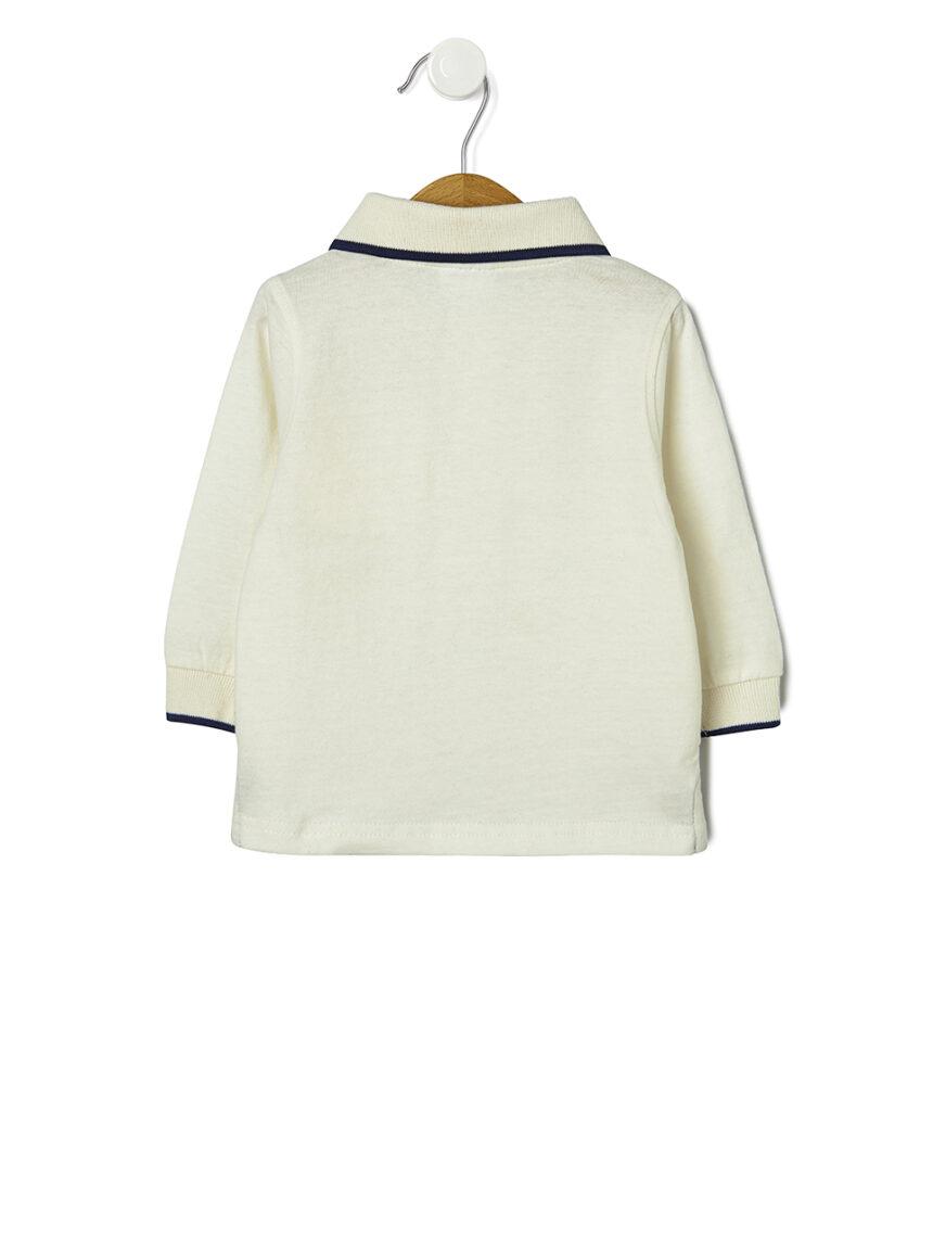 Camisa pólo lisa básica - Prénatal