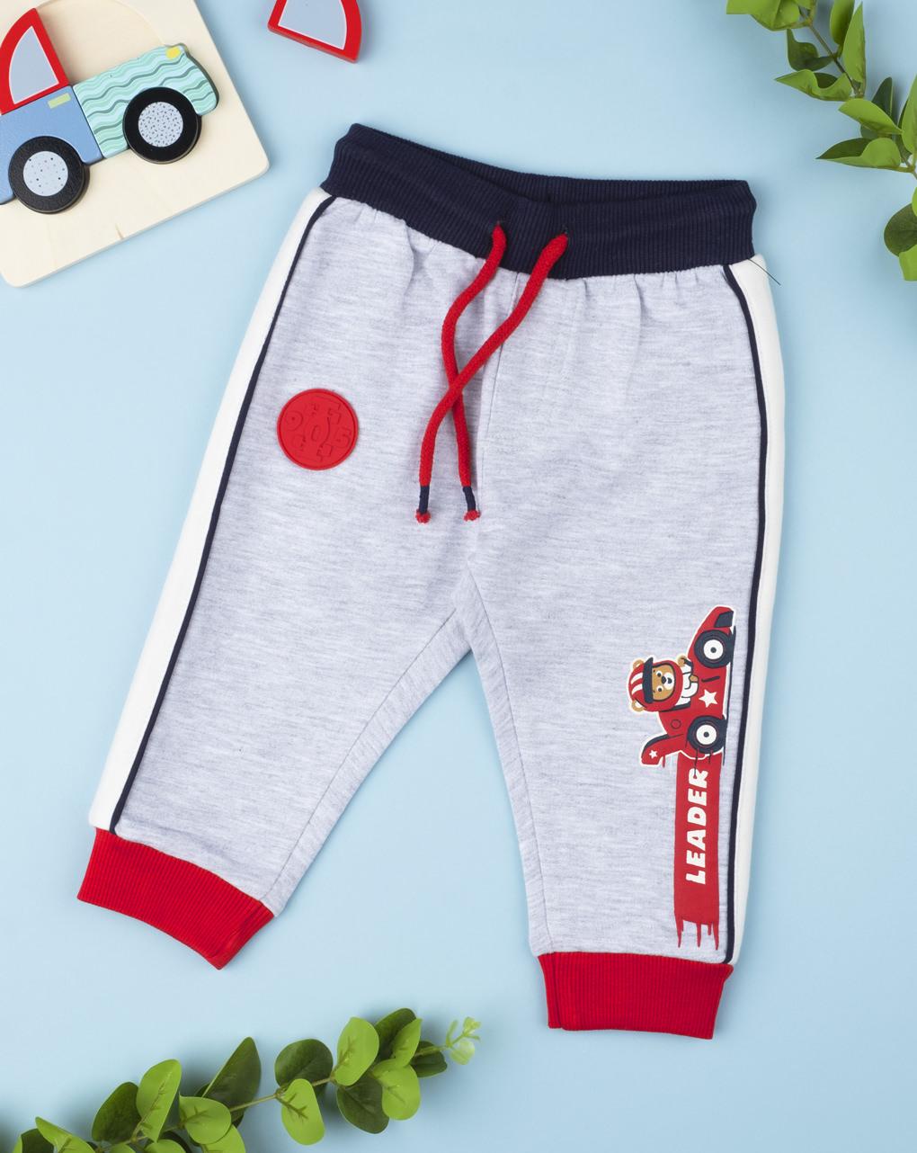 """Pantalone felpato """"fórmula uno"""" - Prénatal"""