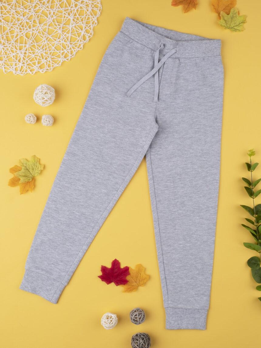 Calça de lã cinza claro - Prénatal