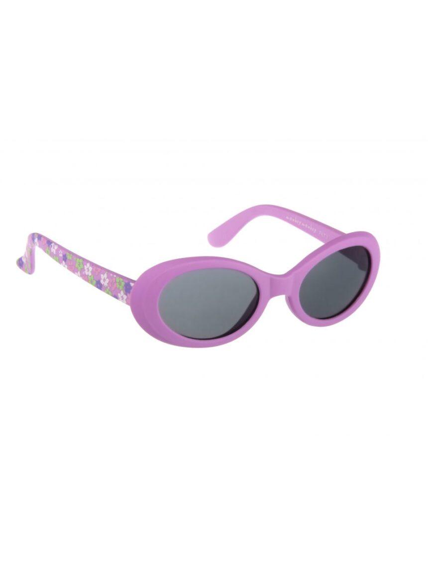 óculos de sol de borracha roxa - Monkey Monkey