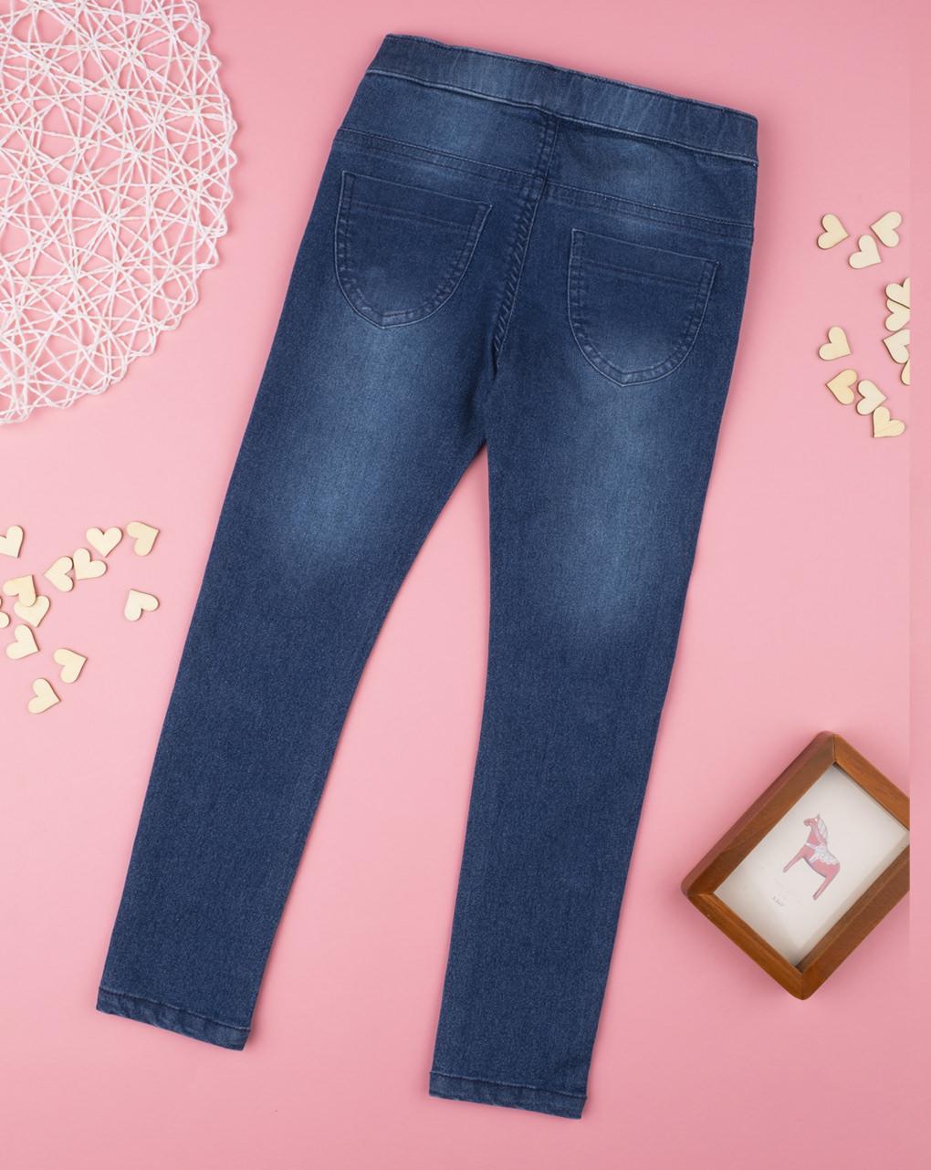 """Garota jeans """"corações"""" - Prénatal"""