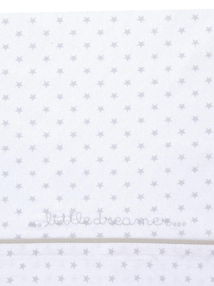 Conjunto de lençóis de 3 peças com estrelas cinzentas - Prénatal