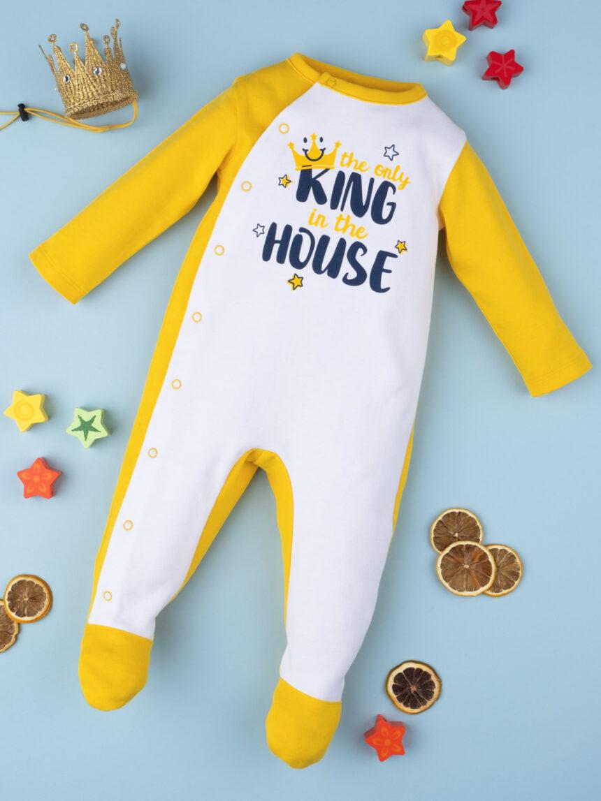 """Menino tutina """"o único rei da casa"""" - Prénatal"""