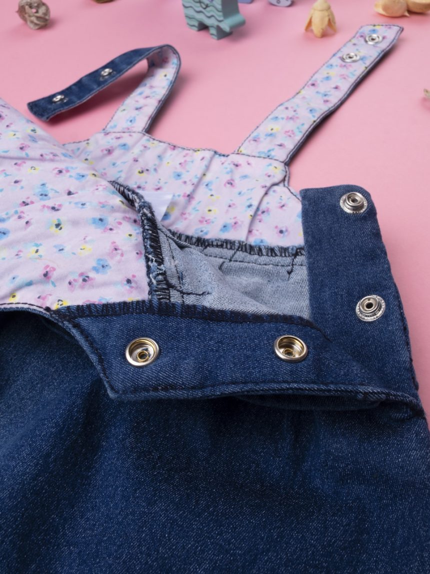 "Menina jeans scamiciato ""flor"" - Prénatal"