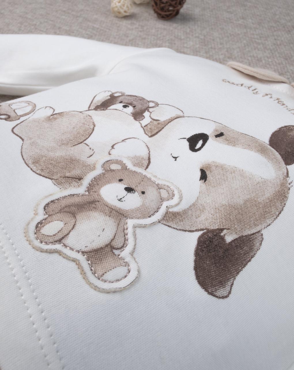 """Macacão de menino """"urso de pelúcia"""" - Prénatal"""