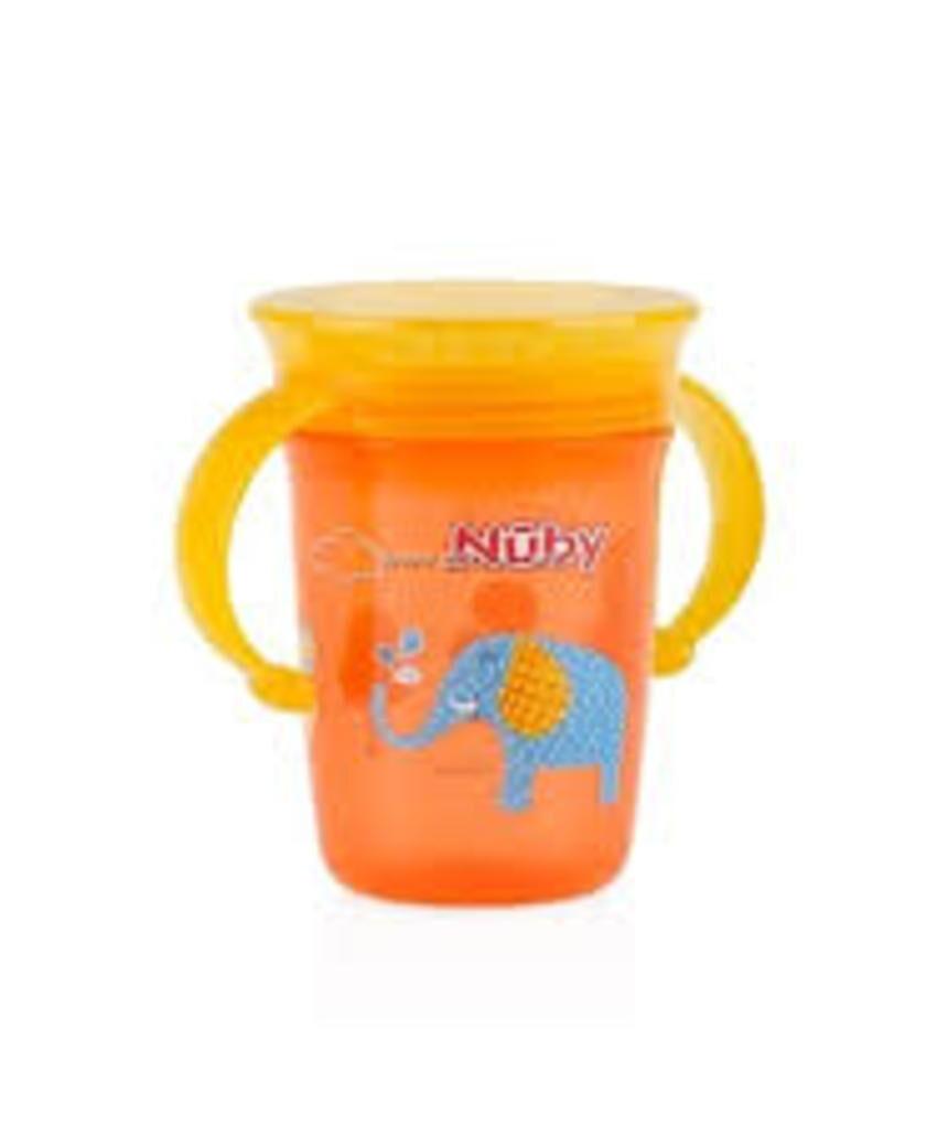 360 wonder mug 240ml anti drop com grips - Nuby