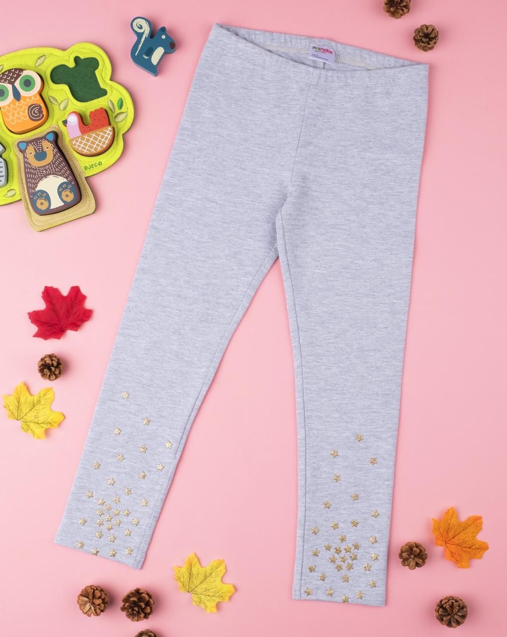 Legging cinza com glitter - Prénatal
