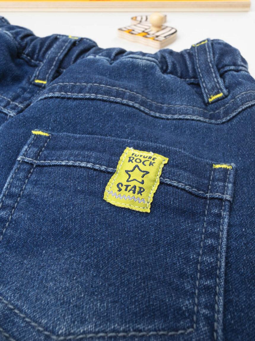 Pantalone boy blu denim - Prénatal