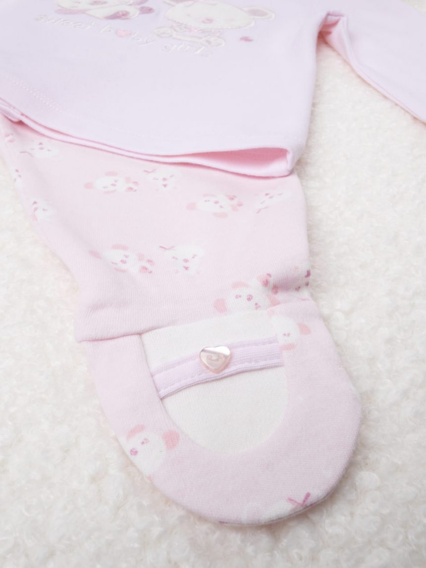 "Completo girl pink ""sweet baby girls"" - Prénatal"