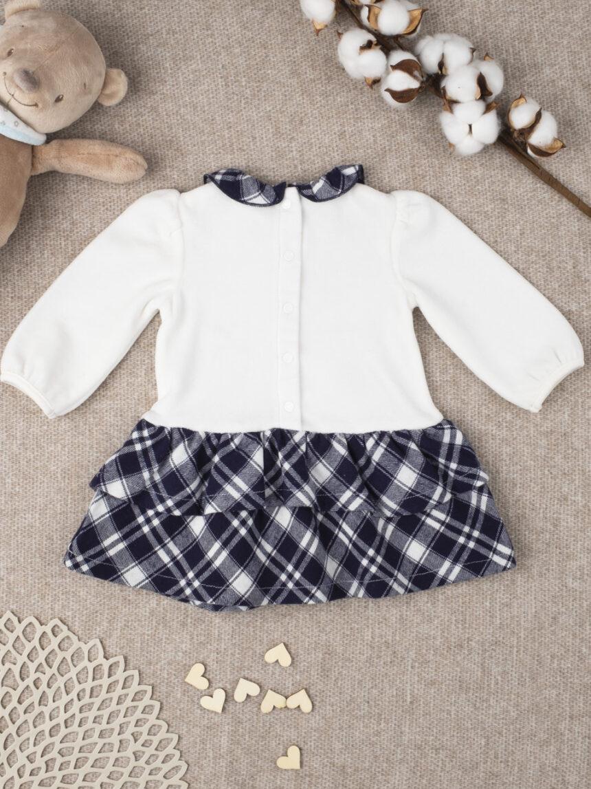 """Vestido de menina xadrez """"minnie"""" - Prénatal"""