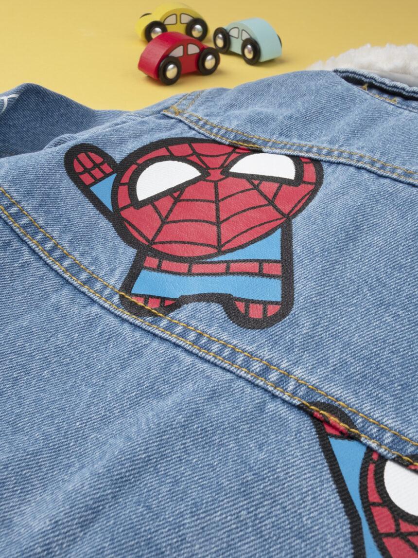 "Jaqueta jeans masculina ""homem-aranha"" - Prénatal"