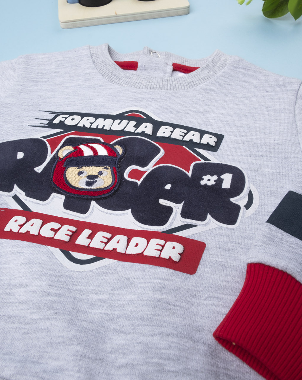 "Camiseta ""líder da corrida"" - Prénatal"