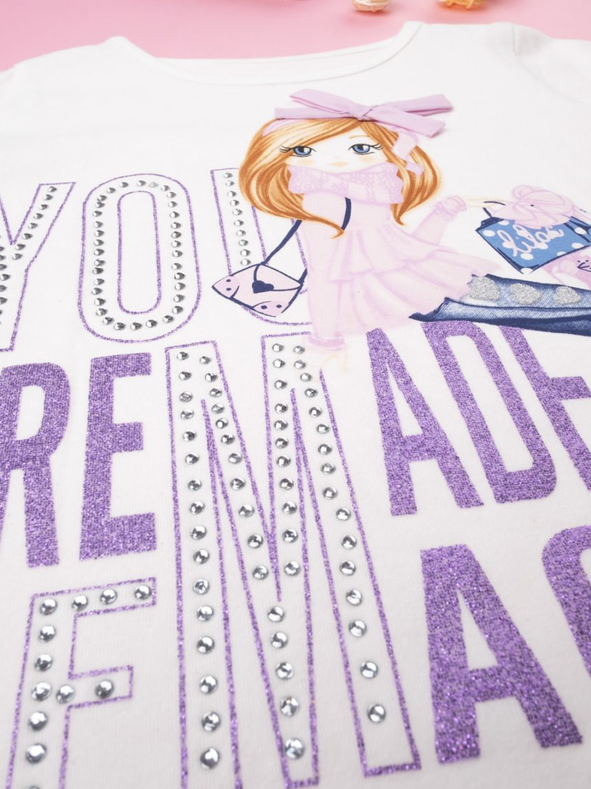 "T-shirt girl ""you are made of magic"" "" - Prénatal"