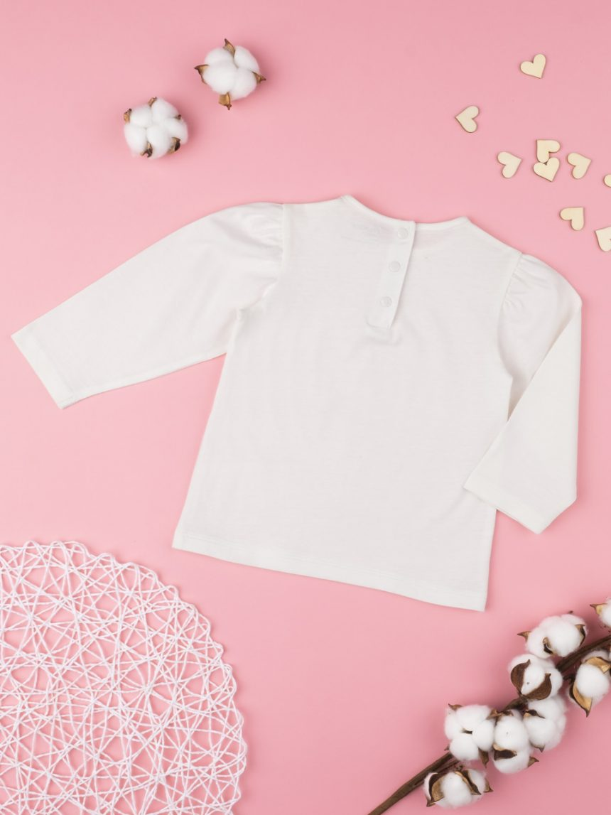 "T-shirt menina um ""palloncino"" - Prénatal"