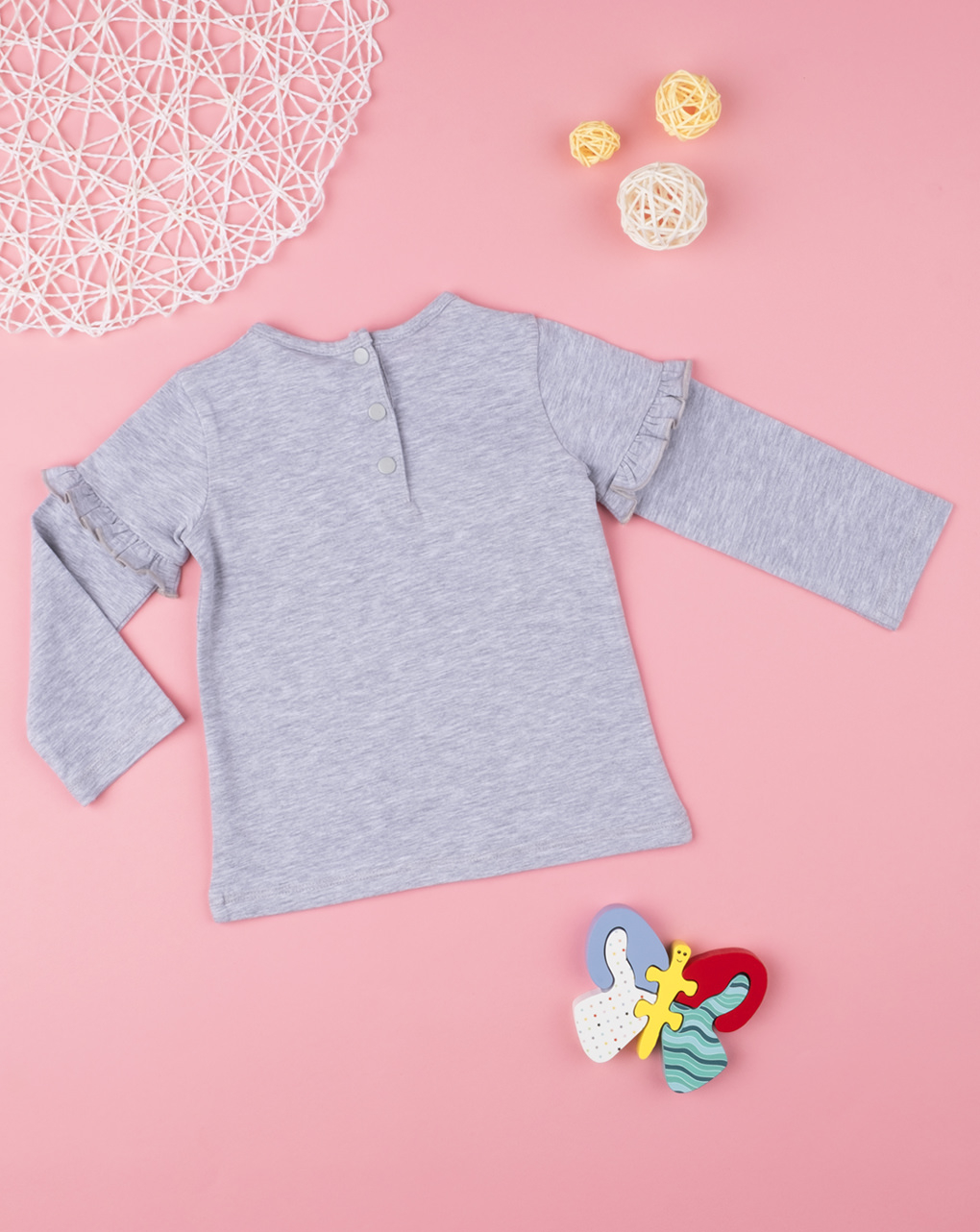 "T-shirt menina ""olá, querida"" - Prénatal"