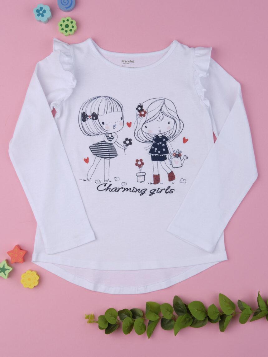 """Camiseta bimba """"meninas encantadoras"""" - Prénatal"""
