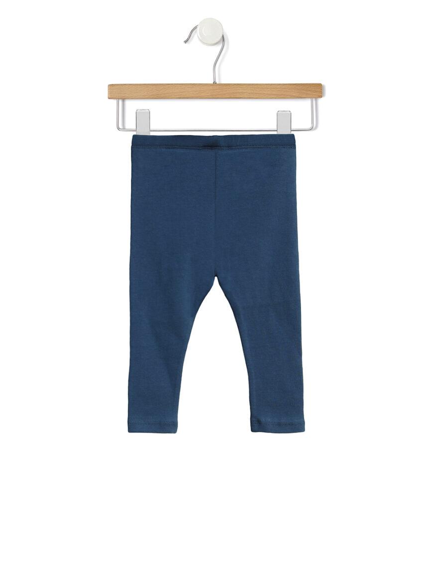 Leggings azuis compridas - Prénatal