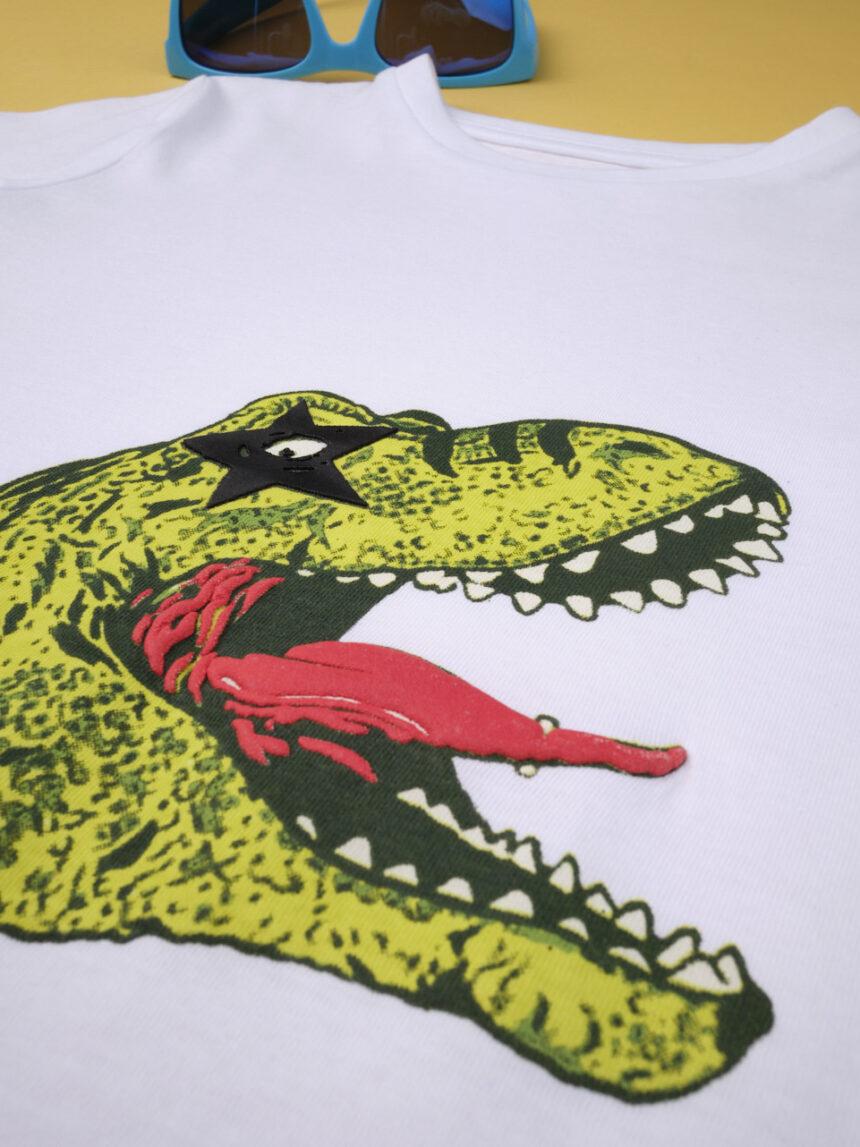 "Menino da camiseta ""dinosauro rockstar"" - Prénatal"