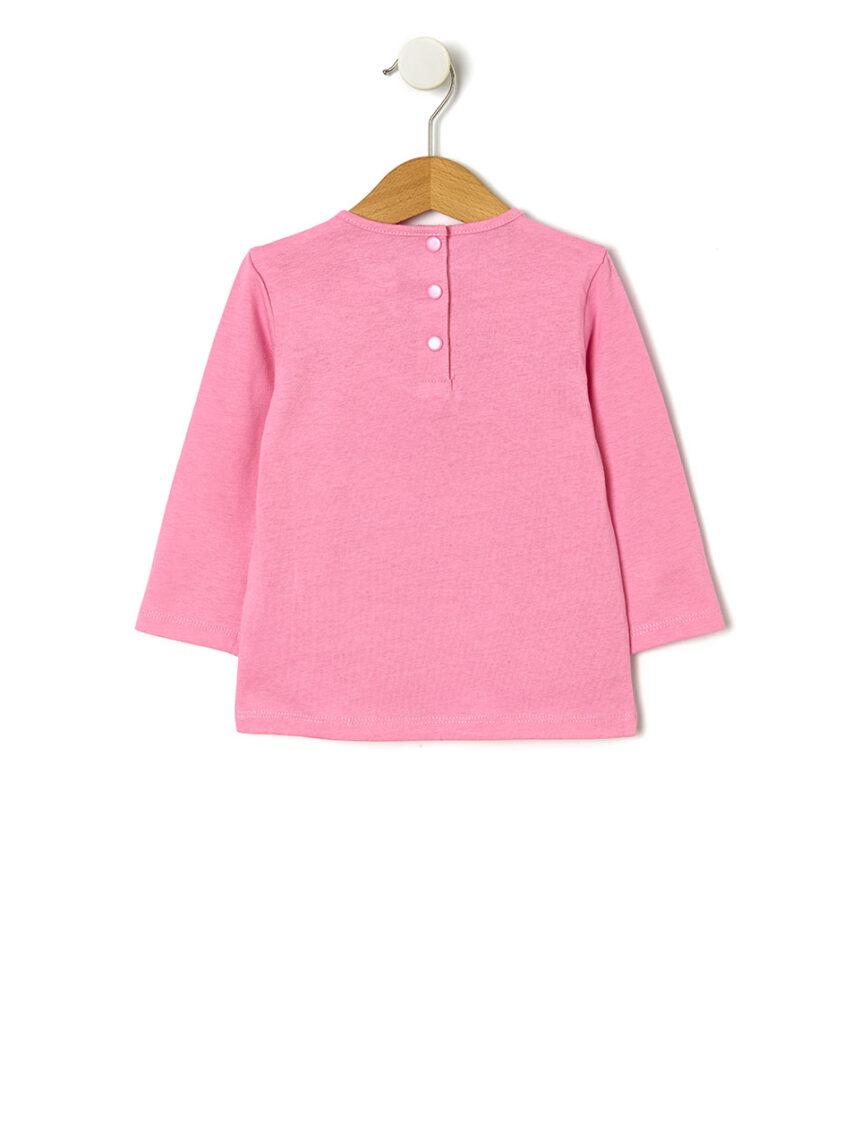 Camiseta básica com estampa glitter - Prénatal