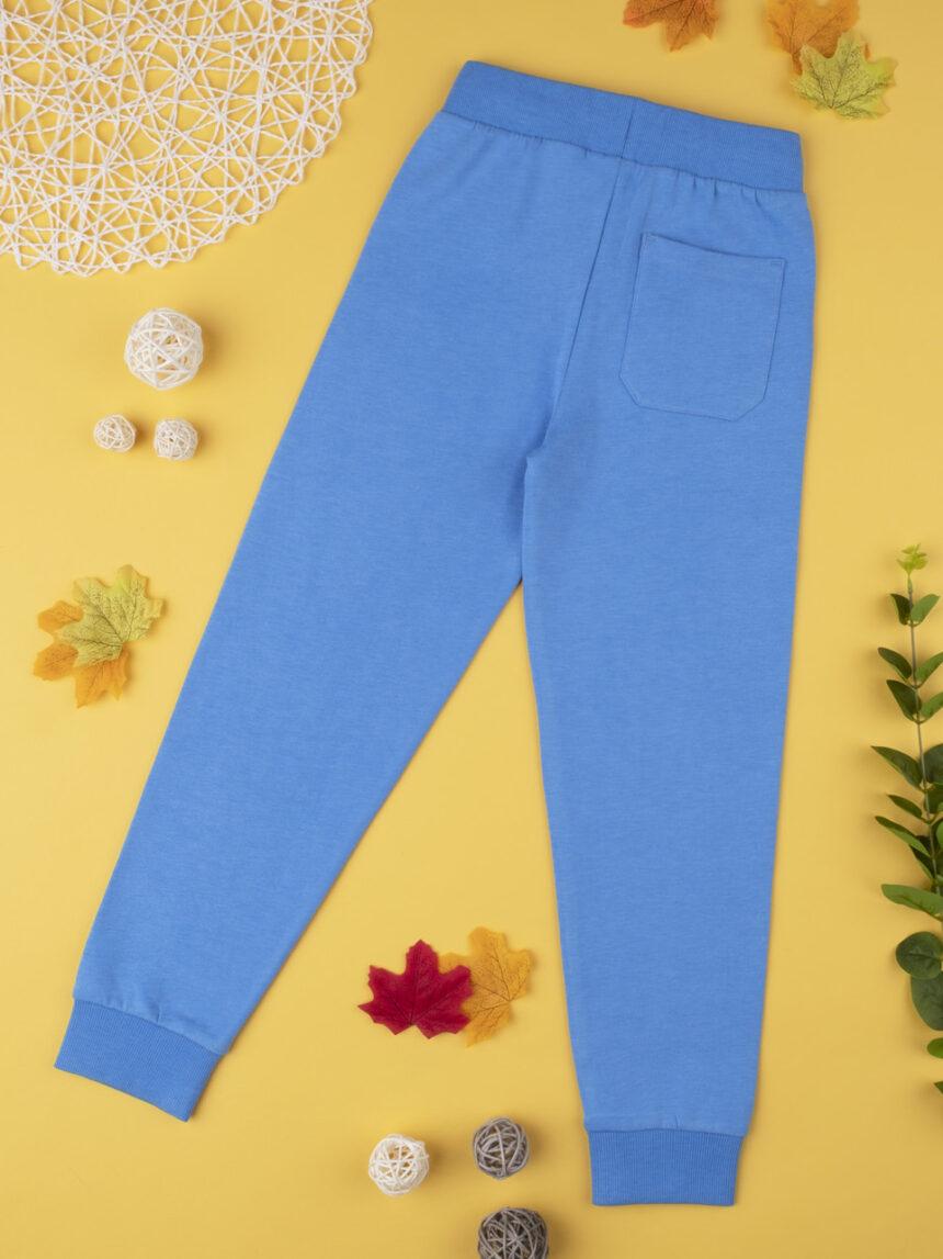 Calça de lã azul escuro - Prénatal